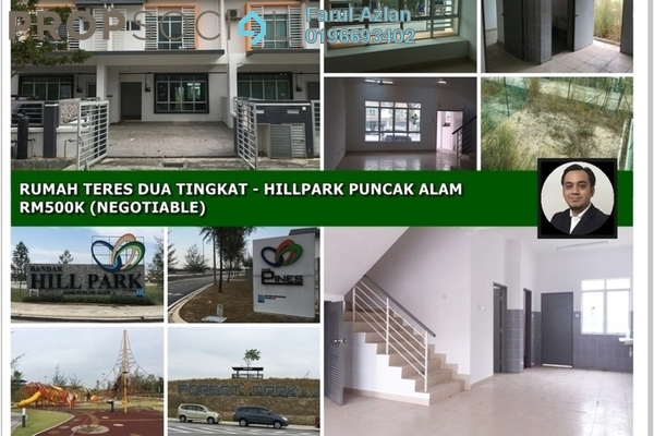 Terrace For Sale in Pines, HillPark Leasehold Unfurnished 4R/3B 500k