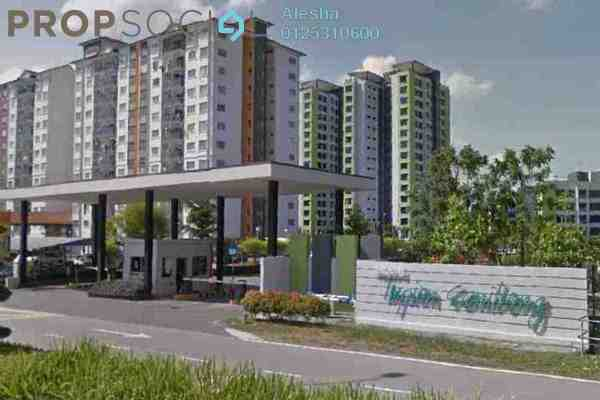 Apartment For Sale in Impian Senibong, Bandar Baru Permas Jaya Freehold Unfurnished 0R/0B 284k