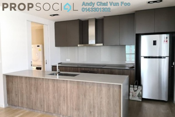 Serviced Residence For Rent in The RuMa Residences, KLCC Freehold Semi Furnished 3R/4B 8k