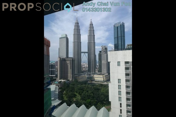 Serviced Residence For Rent in The RuMa Residences, KLCC Freehold Semi Furnished 3R/4B 7.8k