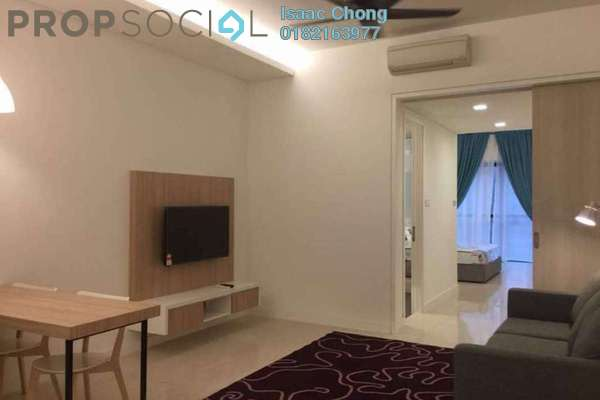 Condominium For Sale in The Horizon Residences, KLCC Freehold Fully Furnished 1R/1B 920k
