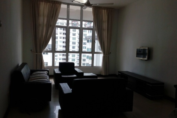 Condominium For Rent in Scott Sentral, Brickfields Freehold Fully Furnished 2R/1B 2.4k