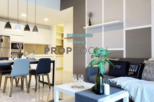 Serviced Residence For Rent in Taman Wahyu, Jalan Ipoh Freehold Fully Furnished 3R/2B 3.1k