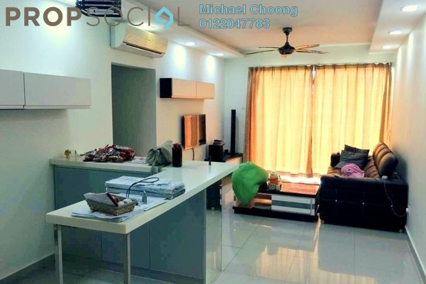 For Sale Condominium at Zen Residence, Puchong Leasehold Semi Furnished 3R/2B 470k