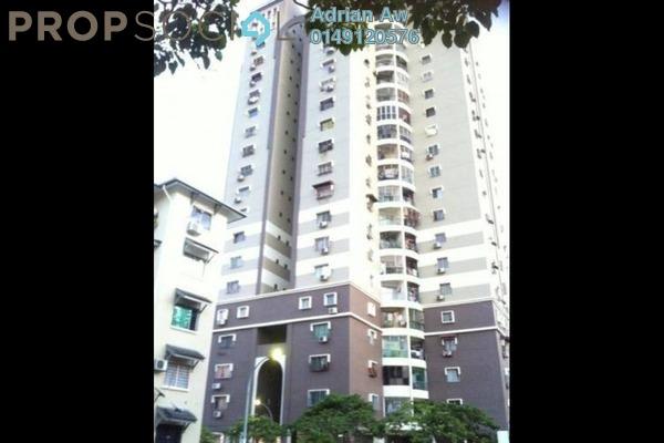 Condominium For Rent in Pandan Height, Pandan Perdana Freehold Semi Furnished 3R/2B 1.5k