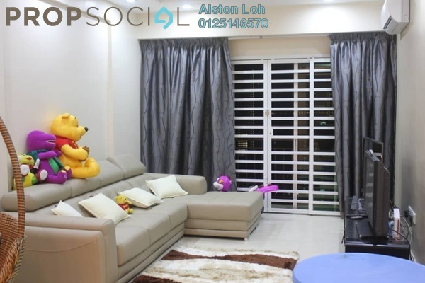 Condominium For Sale in Vista Gambier, Bukit Gambier Freehold Semi Furnished 4R/2B 750k