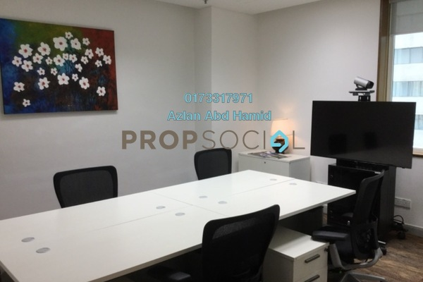 Office For Rent in Etiqa Twins, KLCC Freehold Fully Furnished 0R/0B 2.9k