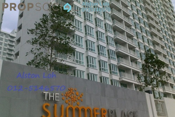 Condominium For Sale in Summer Place, Jelutong Leasehold Semi Furnished 3R/2B 615k