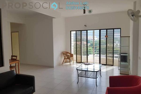 Condominium For Sale in Palm Palladium, Gelugor Freehold Semi Furnished 3R/2B 617k
