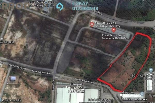 For Sale Land at Melaka International Trade Centre, Ayer Keroh Freehold Unfurnished 0R/0B 25.3m