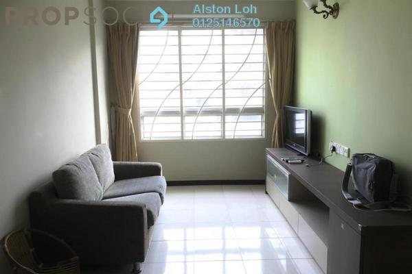 Condominium For Sale in Taman Kheng Tian, Jelutong Freehold Semi Furnished 3R/2B 365k