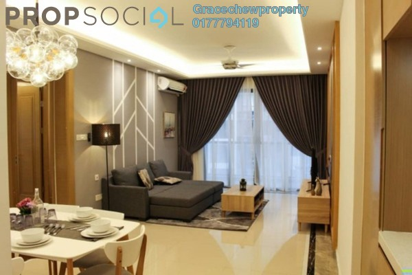Serviced Residence For Rent in R&F Princess Cove, Johor Bahru Freehold Fully Furnished 3R/2B 3.5k
