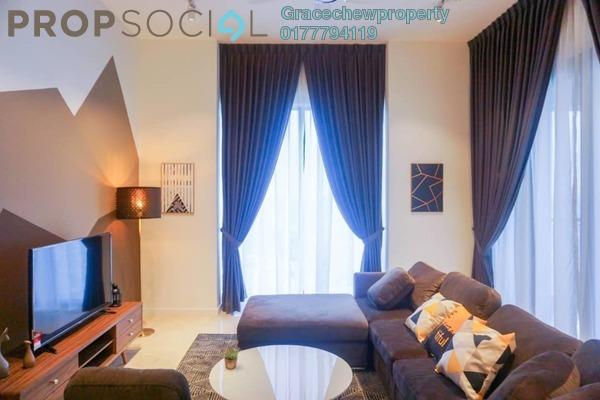 Condominium For Rent in The Astaka @ 1 Bukit Senyum, Johor Bahru Freehold Fully Furnished 3R/3B 6k