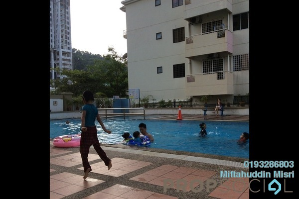 Condominium For Sale in Bukit Prima Pelangi, Segambut Freehold Semi Furnished 3R/2B 360k