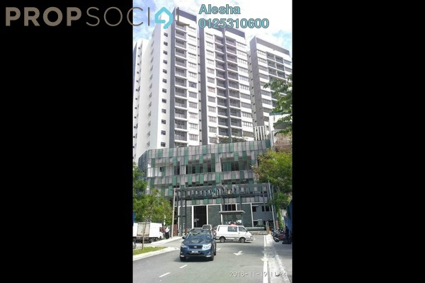 Apartment For Sale in Suria Residence, Bukit Jelutong Freehold Unfurnished 0R/0B 441k