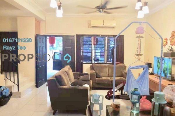 Terrace For Sale in Setia Indah, Tebrau Freehold Semi Furnished 3R/2B 520k