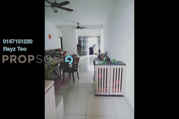 Condominium For Sale in SuriaMas Suites, Johor Bahru Leasehold Fully Furnished 3R/2B 480k