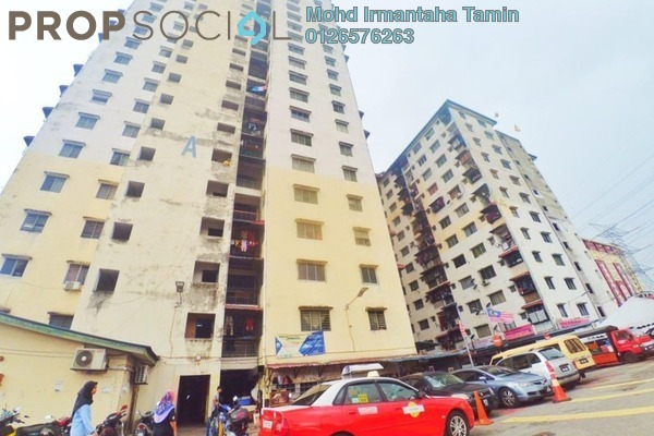 Apartment For Sale in Damai Apartment, Bandar Sunway Freehold Semi Furnished 3R/1B 150k