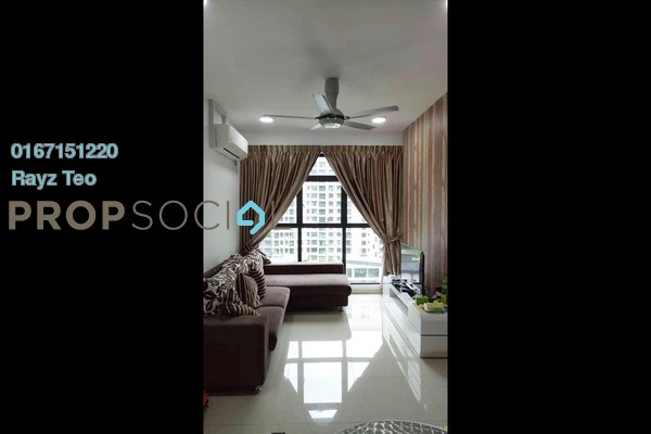 Serviced Residence For Sale in The Garden Residences, Skudai Freehold Semi Furnished 2R/2B 370k