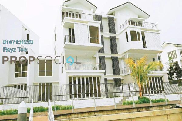 Semi-Detached For Sale in Emerald Bay, Puteri Harbour Freehold Semi Furnished 5R/5B 5.9m