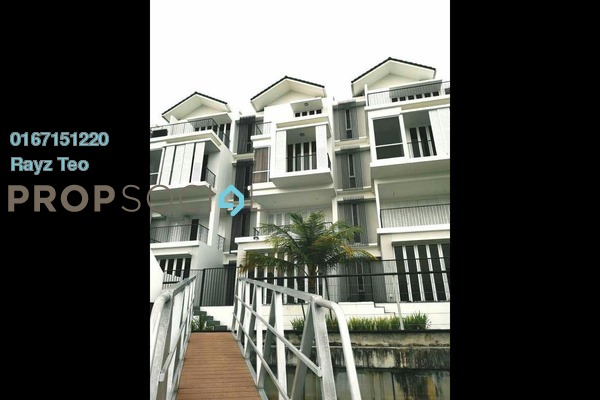 Semi-Detached For Rent in Emerald Bay, Puteri Harbour Freehold Fully Furnished 5R/6B 16k