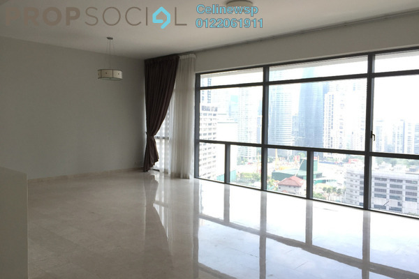 For Rent Condominium at Panorama, KLCC Freehold Semi Furnished 3R/3B 7k