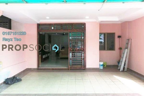 Terrace For Rent in Taman Desa Cemerlang, Ulu Tiram Freehold Semi Furnished 4R/3B 1.8k