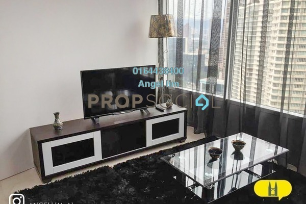 Condominium For Rent in Vortex Suites & Residences, KLCC Freehold Fully Furnished 2R/2B 3.7k