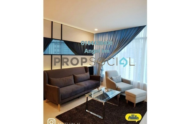 Condominium For Rent in Vortex Suites & Residences, KLCC Freehold Fully Furnished 3R/2B 4k