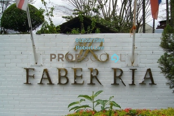 Condominium For Rent in Faber Ria, Taman Desa Freehold Fully Furnished 1R/1B 1.2k