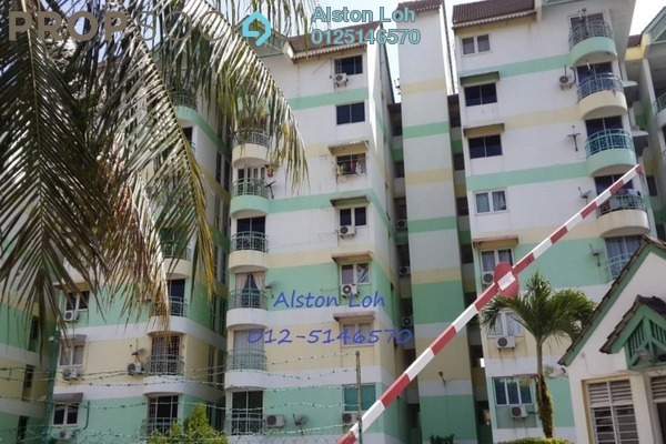 Apartment For Sale in Mutiara Ria, Bukit Gambier Freehold Semi Furnished 2R/2B 329k