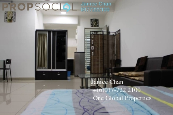 Serviced Residence For Rent in Taman Mount Austin, Tebrau Freehold Fully Furnished 0R/1B 1.2k