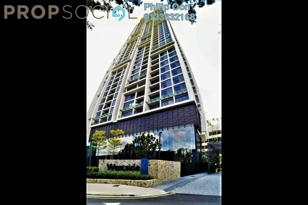 Condominium For Sale in The Westside Three, Desa ParkCity Freehold Semi Furnished 2R/2B 970k