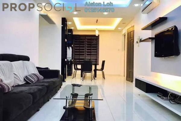 Condominium For Sale in The Spring, Jelutong Freehold Fully Furnished 3R/2B 610k