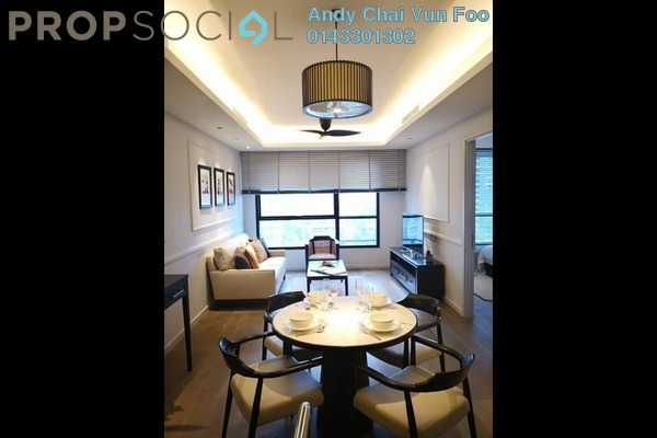 Serviced Residence For Sale in The RuMa Residences, KLCC Freehold Semi Furnished 2R/2B 2.07m
