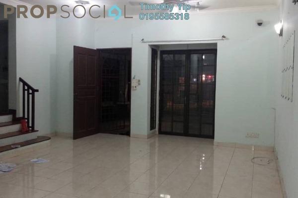Terrace For Sale in SL4, Bandar Sungai Long Freehold Semi Furnished 4R/3B 640k