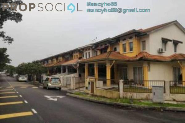 Terrace For Sale in Kemuning Greenville, Kota Kemuning Freehold Semi Furnished 4R/3B 590k