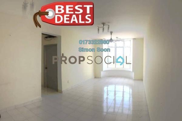 Condominium For Rent in Angkasa Condominiums, Cheras Freehold Semi Furnished 3R/2B 1.38k