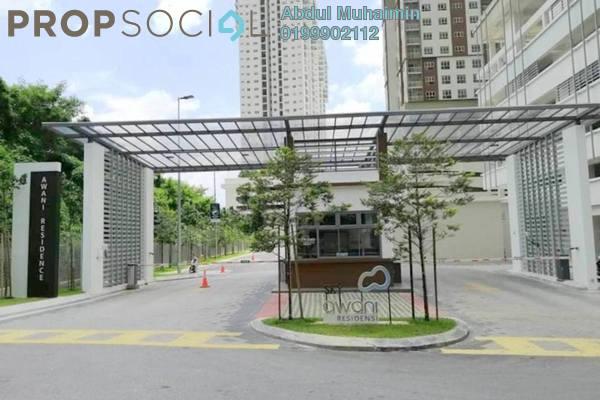 Condominium For Rent in SkyAwani, Sentul Freehold Semi Furnished 3R/2B 1.3k