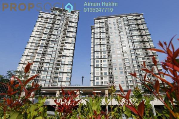 Serviced Residence For Sale in Shaftsbury Square, Cyberjaya Freehold Fully Furnished 1R/1B 300k
