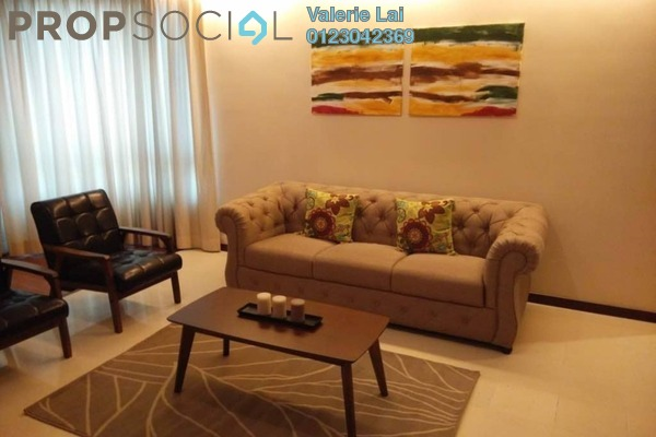 For Rent Serviced Residence at i-Zen Kiara II, Mont Kiara Freehold Fully Furnished 4R/3B 4.45k