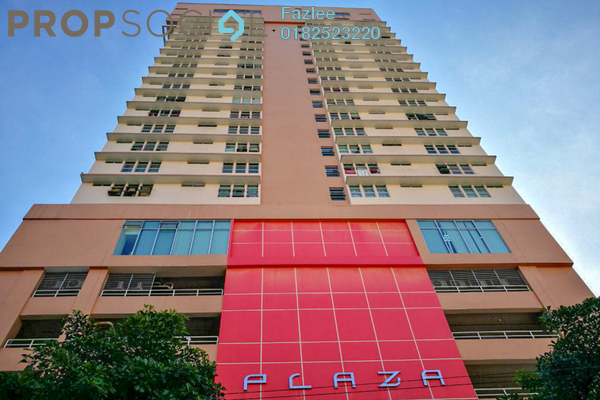 For Sale Condominium at Plaza Rah, Chow Kit Freehold Fully Furnished 3R/2B 530k