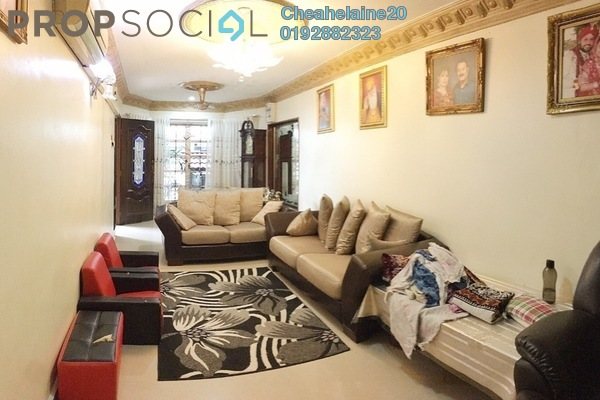 Terrace For Sale in Taman Setapak, Setapak Freehold Semi Furnished 4R/3B 730k