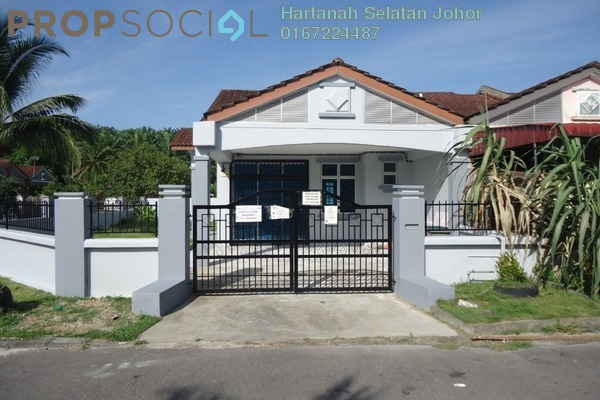 Terrace For Sale in Taman Pulai Indah, Pulai Freehold Unfurnished 3R/2B 420k