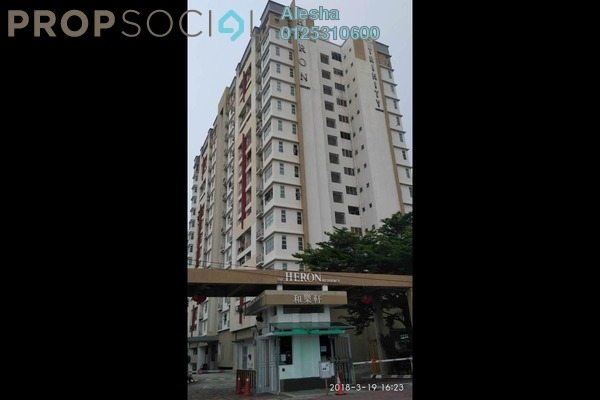 Serviced Residence For Sale in The Heron Residency, Puchong Freehold Unfurnished 0R/0B 243k