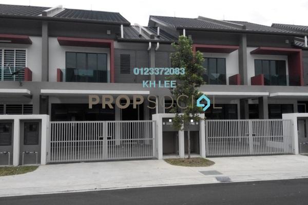 Terrace For Rent in Nahara, Bandar Bukit Raja Freehold Semi Furnished 4R/3B 1.4k