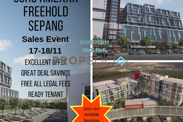SoHo/Studio For Sale in Core SoHo Suites, Sepang Freehold Semi Furnished 1R/1B 250k