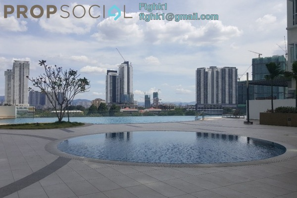 For Rent Condominium at DeSkye Residence, Jalan Ipoh Freehold Semi Furnished 3R/2B 1.8k