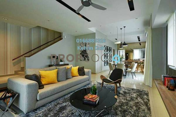 Terrace For Sale in Ixora Residences, Bandar Seri Coalfields Freehold Unfurnished 4R/4B 678k