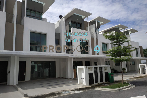 For Rent Superlink at Lake Point Residence, Cyberjaya Freehold Unfurnished 5R/5B 2.2k